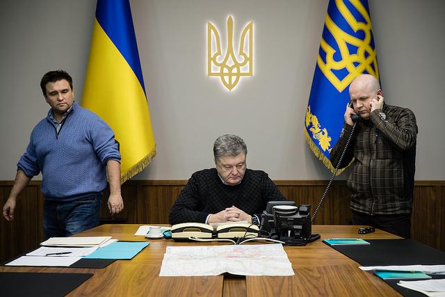 Ukraina na zagranicznym froncie