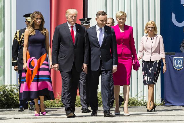 Präsident Andrzej Duda im Weißen Haus: Worum ging es?