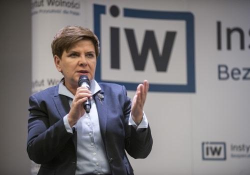 Spotkanie z kandydatką na premiera Beatą Szydło