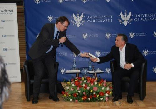 Viktor Orbán w Warszawie
