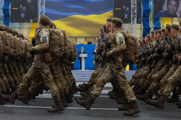 Ukraiński konsensus partyjny wobec wojny z Rosją