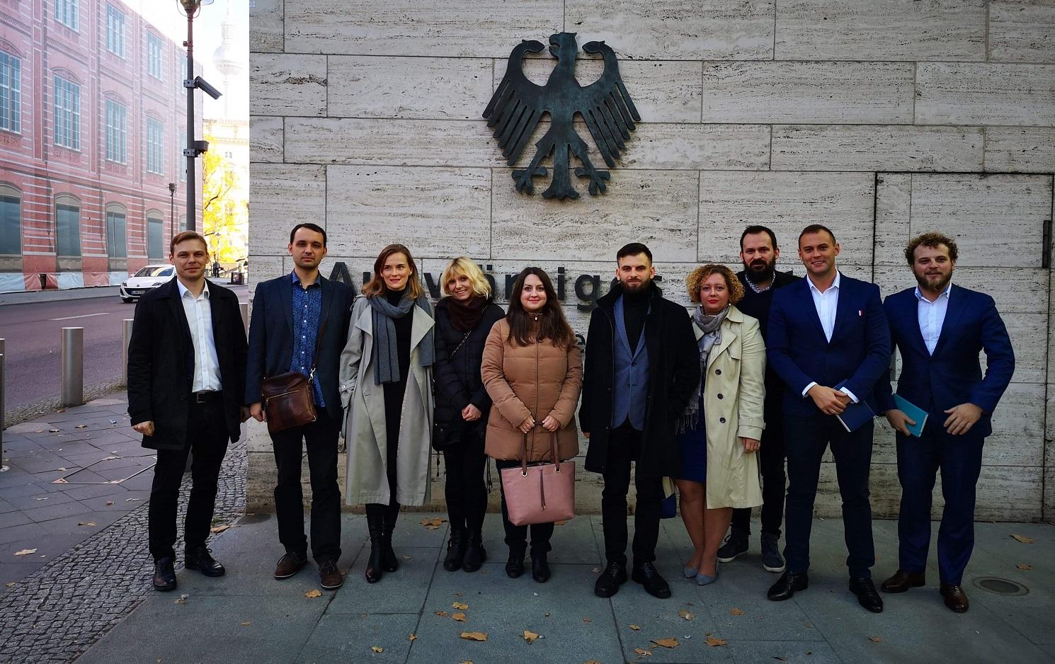 """Wizyta studyjna w Niemczech w ramach programu """"Przywództwo – Poziom Wyżej"""""""