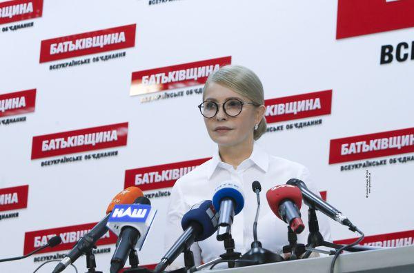 Tymoszenko walczy z Poroszenką i chce jego dymisji