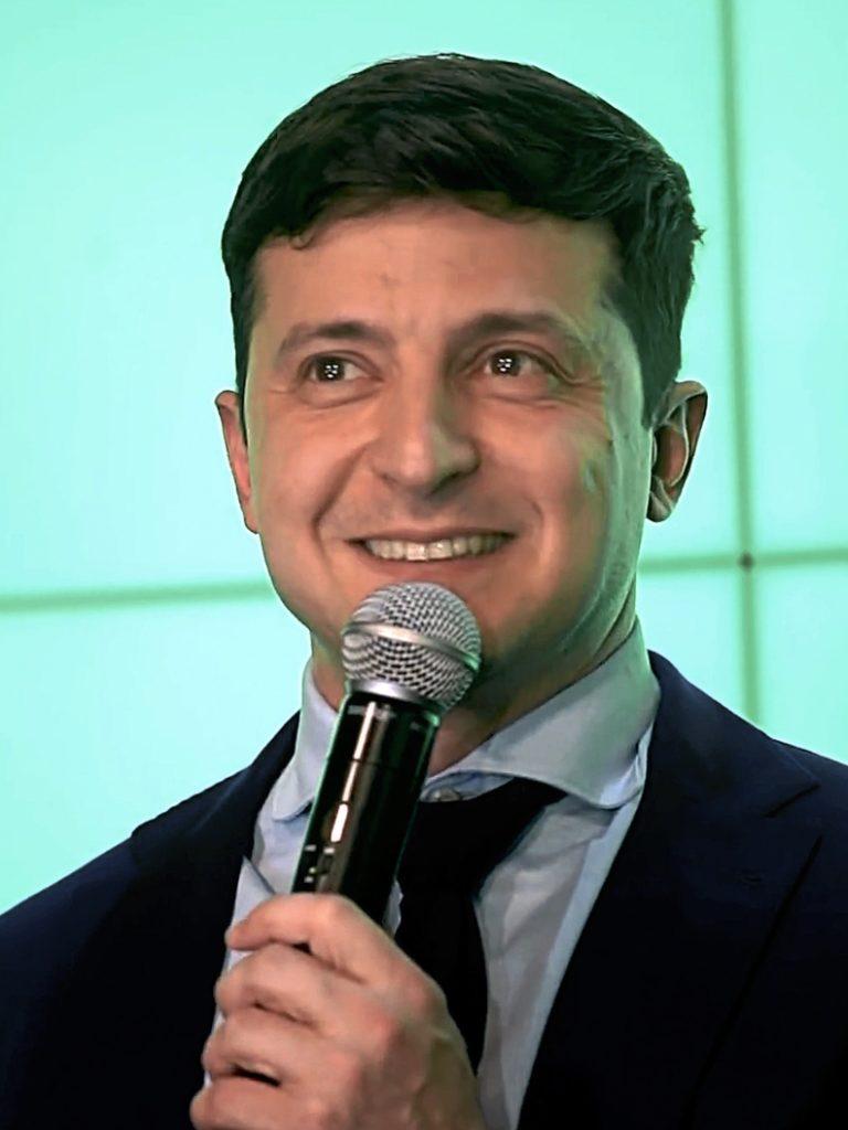 Niższe poparcie dla Zełenskiego