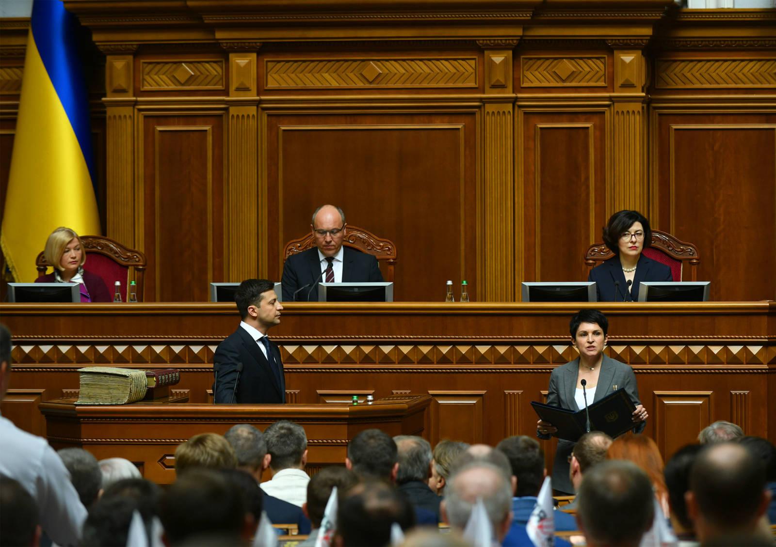 Kto jest kim w IX. Radzie Najwyższej Ukrainy?