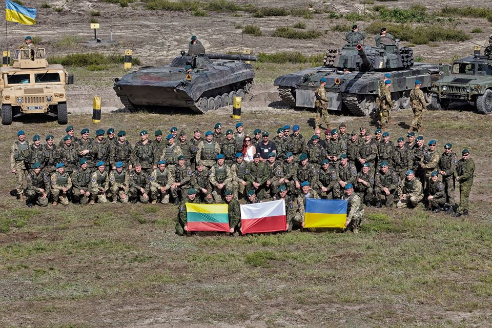 Litwa, Polska i Ukraina tworzy Trójkąt Lubelski