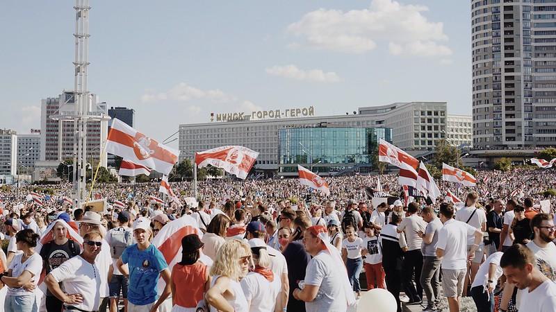 Ukraińskie reakcje na protesty społeczne na Białorusi