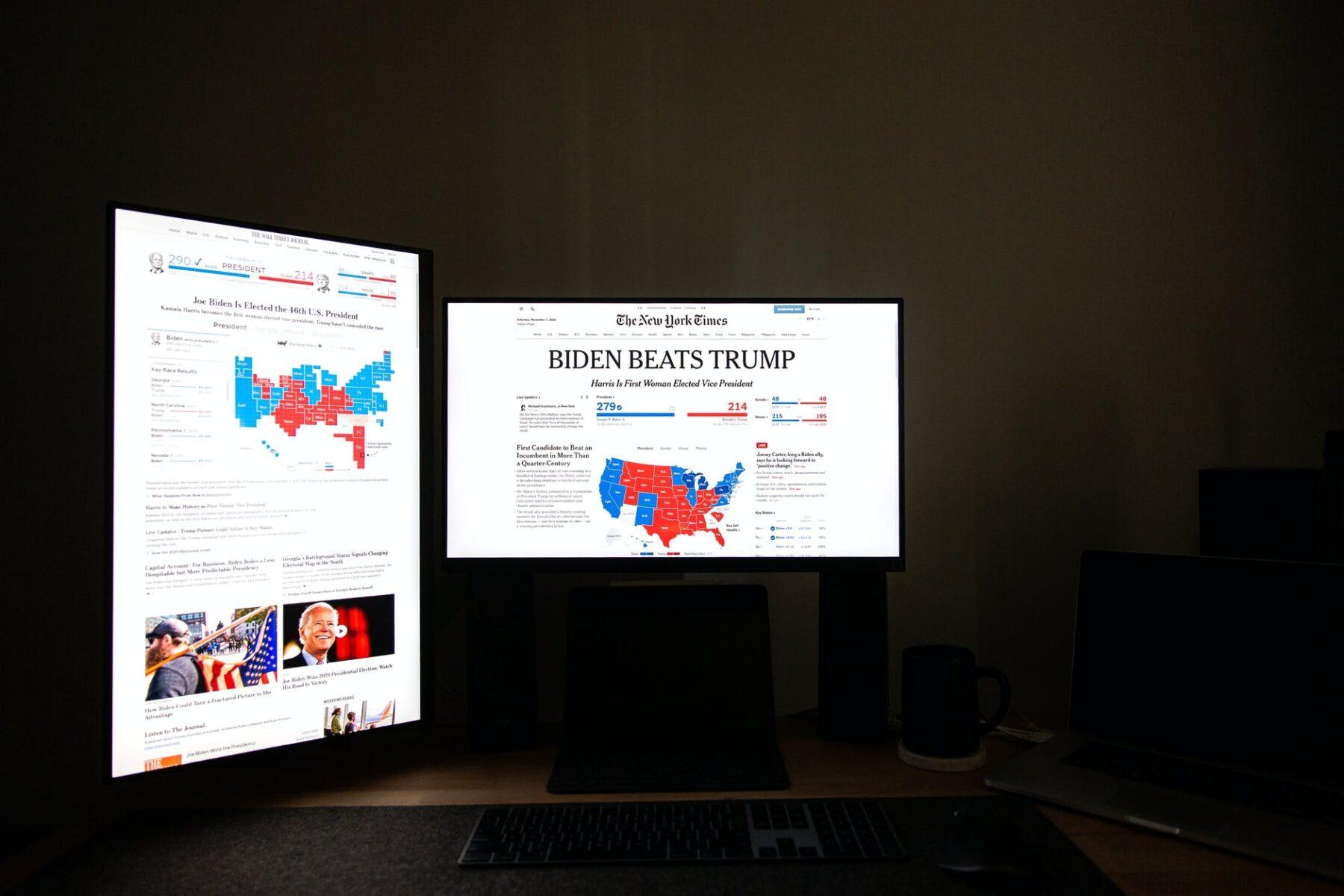 Joe Biden będzie 46. prezydentem Stanów Zjednoczonych – nowe wydanie Ekspresu Amerykańskiego